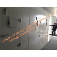 Prefabricated Large Capacity Cold Room Panel Cooling System Blast Frezeer For Meat Manufactures