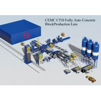 China Brick Machinery Plant Concrete Block Making Machine with PLC Control System Fully Automatic on sale