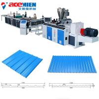 Recycling Corrugated Roof Sheet Making Machine Building Material 250-400kg/Hour Manufactures