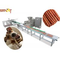Full Auto Meat Strip Traying System Jerkey Beef Chicken Snack Sticks Making Manufactures