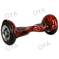 Fire Red  Adult 2 Wheel Self Balnce Scooter with 2 Big Waterproof Pneumatic Tire Manufactures