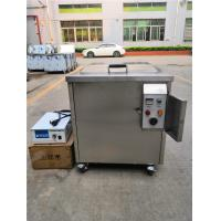 40khz Digital Ultrasonic Cleaner Cleaning 3D Printed Parts On Plastic / Resin / Hard Wax Manufactures