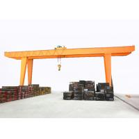 China Double Girder Goliath Gantry Crane 20 Ton Wireless Control  Outdoor Place Use on sale