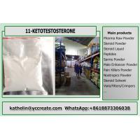 China CAS 564-35-2 Strongest Legal Prohormone Active Androgen Steroid 11- Ketotestosterone 11-KT For Bodybuilding on sale