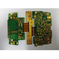 Rigid Flexible Multilayer Industrial PCB FR4 ENIG 2U'  Board 0.15mm Min Hole Size Manufactures