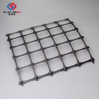 3.95X50m Polypropylene Geogrid 30X30kn / Biaxial Integral Geogrid For Soil Retainer Manufactures