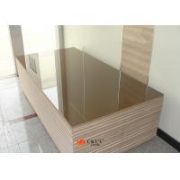 High Gloss Alkali Resistant 4ft x 8ft 18mm MDF Board For Indoor Decorations Manufactures