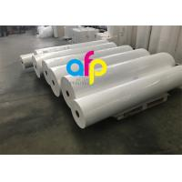 Quality High Grade Matte Film Lamination , White Bopp Thermal Film For Paper / Paperboard for sale