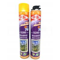 High Strength 280ml Fire Rated Spray Foam Manufactures