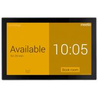 10.1 Inch Wall Mounted Tablet With NFC, LED light Bar on the sides For Conference Room Ordering System Manufactures