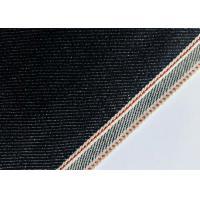 Customize Design Stretch Denim Fabric For Skinny Selvedge Jeans 31mm Width Manufactures