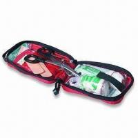 Smart First-aid Kit with Velcro Strip on Back, Suitable to Family, Office, Travel and Car Use Manufactures