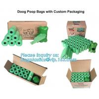 Bone Shaped Dog & Pet Waste Bag Holder - Holds Standard Rolls of Poop Bags, green color dog dispenser +3rollings waste b Manufactures