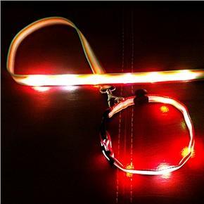 2012 Unique Woven LED Pet Lead Manufactures