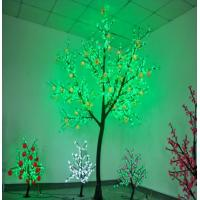118w Power green+white LED Peach outdoor christmas lights H300cm*D180cm for Roads Manufactures