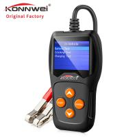 TFT Colorful Screen Auto Car Diagnostic Scanner KW600 With Data Printing Function Manufactures