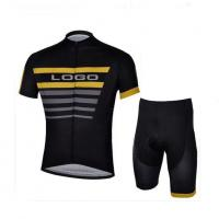China Sublimated polyester and coolmax bsic yarn cycling jersey/cycling wear/sports wear short sleeve suits on sale