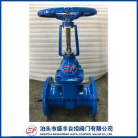 Cast Iron Rising Stem Resilient Seated Rubber Soft Seal Flange Gate Valve Manufactures