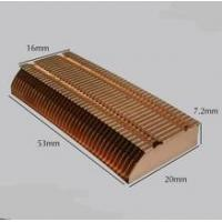 Skive OEM Brass Heatsink, Skiving Fin Heat Sink Manufacturer, Skived Cu1100 Copper Block Heatsink Manufactures