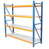 High Quality Storage Solutions 4 Tier Warehouse Steel Shelving Manufactures