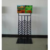 Metal Staggered Tile Display Racks For Building Material Store Manufactures
