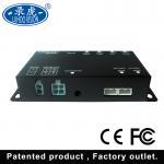 Black Mobile Digital 4ch Car DVR , 1080p Multi Auto DVR Camera System Manufactures