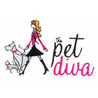 Custom Embroidery Digitizing Pet diva girls and dog JF080308101 Manufactures