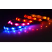 Durable Solar Pink Led Pet Collar USB Safety Lighted Dog Collars Glowing In Dark Manufactures