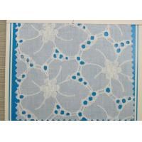 Water Soluble Eyelet Wide Stretch Lace Trim With Flower Pattern For Underwear CY-CX0112 Manufactures