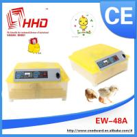China Newest design Cheap quail eggs incubator In Stock With 99% hatching Rate with CE approved on sale