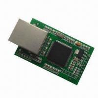 Dual-serial RS232 TTL to Ethernet Converter TCP IP Module, Supports DHCP Automatically Access IP Manufactures