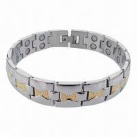 Wholesale Egypt Style Hot Selling Bracelet, Made of Stainless Steel/Titanium Materials Manufactures