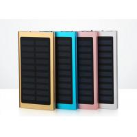 Portable Mobile Charger Slim Power Bank Solar Energy 8000mAh 6000mAh 4000mAh Manufactures