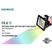PIR Motion Sensor Warm White 50W Led Flood Light Led Tennis Court Flood Lights Industrial Outdoor Manufactures