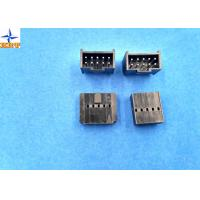 2.54mm Pitch Shrouded Header Male Connector For Wire To Board Connector / Housing Manufactures