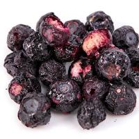Delicious Freeze Dried Blueberry Fruit Whole Dehydrated Food Wholesale Manufactures