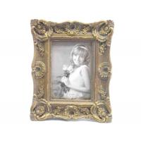 Small Antique A4 Photo Frames / Velvet Easel Antique Style Picture Frames Manufactures