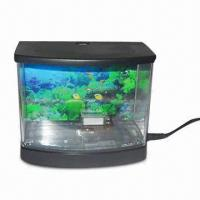 China USB Aquarium with Temperature and Air Control for Raising Tropical Fish on sale