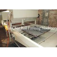 Color Steel Stone Coated Roof Tile Machine With PLC Control System Manufactures