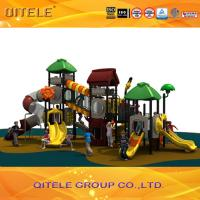 Attractive children used outdoor playground equipment for outside fun games Manufactures