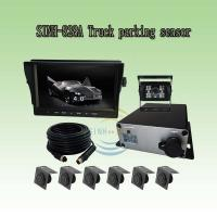 Quality Parking Radar System with 6 Sensors for Various Large Vehicles with 0.4-5.0m Detection Range, LCD Display Distance and B for sale