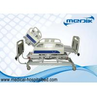 China Anti-Rust Treated Electric Hospital ICU Bed With One Single Button For Cardiac Chair Position wholesale