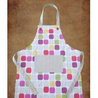 100% cotton twill fabric printed apron Manufactures