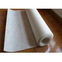 White Geotextile Drainage Fabric , Corrosion Resistance Needle Punched Geotextile Manufactures