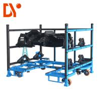 Anti Oxidation Heavy Duty Tool Trolley , Workshop Trolley Cart Metal Material Manufactures