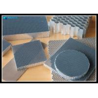 Quality Air Flowing Holes Punched Metal Honeycomb Core Outdoor Decoration Panel Use for sale