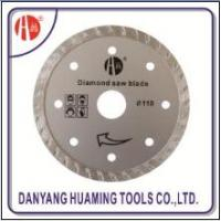 Quality HM-22 Diamond Saw Blade Sintered Turbo for sale