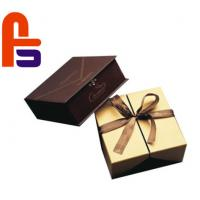 High End Design  Recyclable With Silk Ribbon Accessories Cardboard Gift Boxes Manufactures