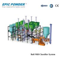 Industrial Grinding Ball Mill Classifier / Agitated Ball Mill For Limestone Manufactures