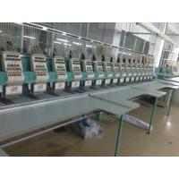 Fully Automatic Computer Embroidery Machine Digital Control With Panasonic Motor Manufactures